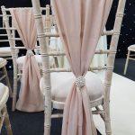 Champagne Chivari Chair Drape