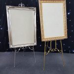 Gold & Silver Easels