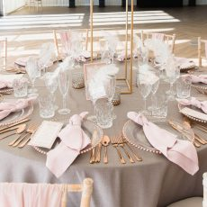 1. Rose Gold Cutlery