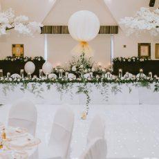 1. White LED Dance Floor