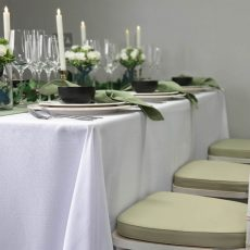1. White Natural Linen Example