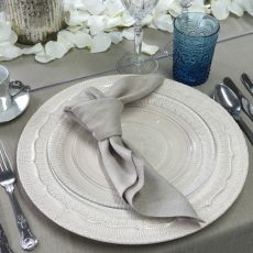12. Grey Natural Napkin