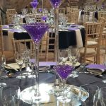 Lit Martini Set Purple Example