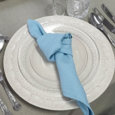 16. Baby Blue Natural Napkin