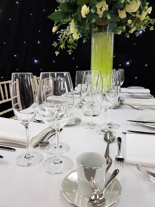 Ivento Glassware The Banqueting Hire Service