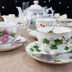 2 Vinatage China Tea Cup & Saucer