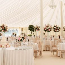 2. White Plain Linen Event