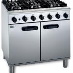 Gas 6 Burner Oven