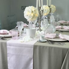22. Pink Natural Table Runner