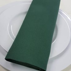 25. Forest Green Plain Napkin