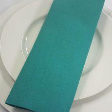 26. Turquoise Plain Napkin