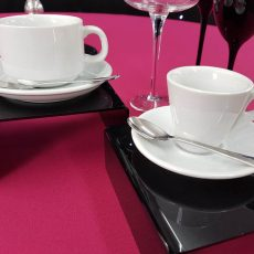 3 Tea Cup & Saucer with Demi Tasse Cup & Saucer
