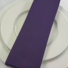 32. Purple Plain Napkin