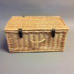 Wicker Gift Hamper Basket 24(H) 52(W) 35(D) cm
