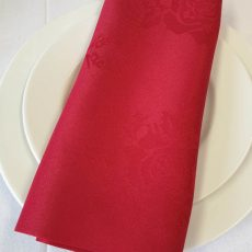 36. Red Rose Pattern Napkin