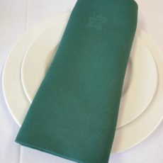 38. Forest Green Ivy Leaf Napkin