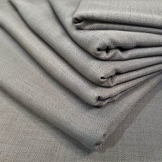 4. Charcoal Natural Linen Example
