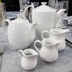 5 Fine Bone China Serving Items