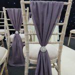 Mink Chivari Chair Drape