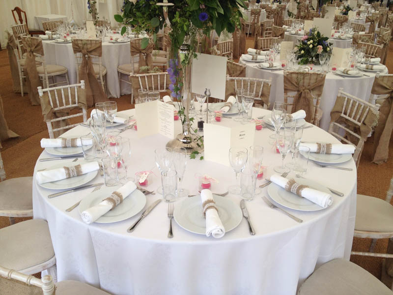 Tables The Banqueting Hire Service