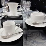 Tea Cup & Saucer, Demi Tasse Cup & Saucer with Latte Cup & Saucer