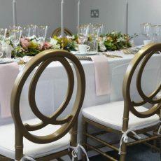 7.Phoenix Chair- Gold