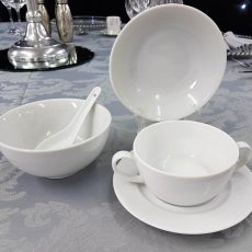 8 Fine Bone China Rice Bowl, Dessert Bowl & Soup Bowl