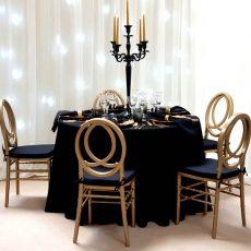 8.Phoenix Chair- Gold