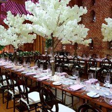 8. White Blossom 1.8m Trees