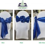 Sash Types On Chair Covers