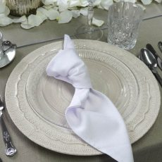 9. White Natural Napkin