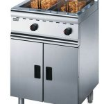 GAS Fryer 28ltr Double Basket