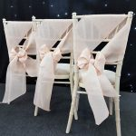 Linen Sashes On Chivari Chairs - Wrap Example