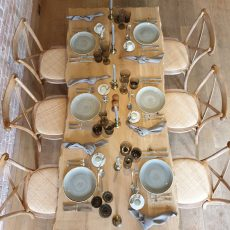 21. Naturally Rustic Table. Seats 8 Guests