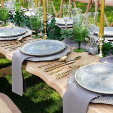 2.Pebble Grey Food Safe Plate