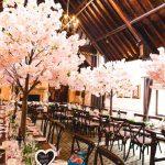 Pink 1.8m Blossom Tree Example