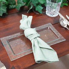 Rectangular Glass Food Safe Plate