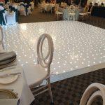 White LED Dance Floor Example 2